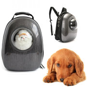 Breathable Transparent Astronaut Pet Backpack Dog Cat Travel Carrier Backpack Bag