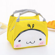 Portable Thicken Lunch Tote Bag Oxford Waterproof Cooler Insulated Handbag Cute Storage Containers