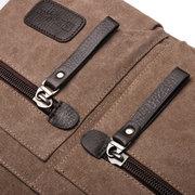 ECHPHERO Männer Frauen Casual Leinwand Multi-Pocket Portable Handtaschen Kissen Umhängetasche