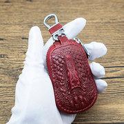 Porte-clés voiture en cuir véritable modèle totem clé cas cas