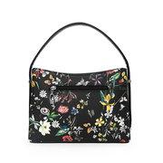Faux Leather Print Handbag For Women