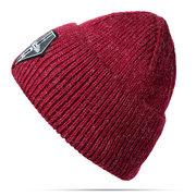 Damen Männer Warm Soft Strickmütze Mütze Winter Outdoor Schnee Freizeit Bonnet Hats