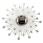 Filo metallico d'argento del metallo dell'oro di Sunburst Jeweled del diamante della novità di 33CM