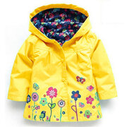 Bambini Impermeabile Trench Coat Giacca a Vento