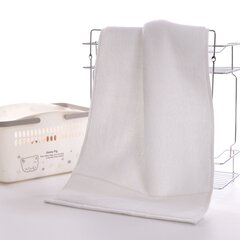 76x36cm Pure Cotton Bath Towel Soft Thicken Super Absorbent Face Towels