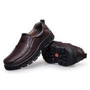 Chaussures Homme Pointure Large Casual en Cuir Véritable pour Business