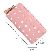 Porte-cartes de poche pour téléphone à long portefeuille pour femme