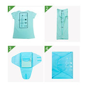 Pants Crease Resistant Storage Bag Travel Cubes Closet Organizer Oxford Shirt Fitting Organizers