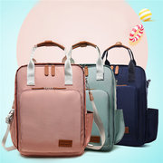 Women Oxford Water Resistant Multi-carry Backpack Large Capacity Travel Mummy Bags