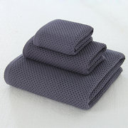 100% Cotton 3-Piece Towels Set Hotel Quality Super Soft Highly Absorbent Bath Towels