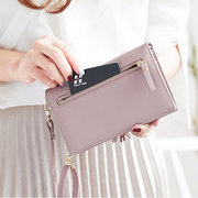 Bohemian Tassel Shoulder Bag 5.5 Inches Phone Bag For Women