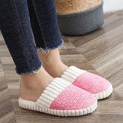 Pantofole foderate calde antiscivolo per interno leggero casual da donna