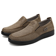 Men Old Peking Hand Stitching Non-slip Casual Cloth Shoes
