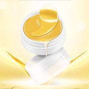 60 Pcs Cristal Ouro Olho de Colágeno Máscara Anti-Envelhecimento Rugas Cuidados Com Os Olhos Máscara Cuidados Com A Pele