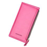 Women Faux Leather Long Wallet Multi-slots Card Holder