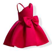 Toddler Girls Party бантом без рукавов Формальная принцесса Платье для 3Y-16Y