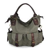 Женская многокарточная повседневная сумка из холста