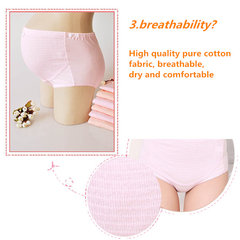 Women Pregnant Expectant Mother Adjustable Panties Hold Abdominal Maternity Cotton Briefs Underwear