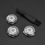 Electric Replacement Shaver Head Suitable For Philips Norelco SH50 Razor 3Pcs Cutter Head 1Pcs Brush