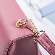 Solid Leisure Square Bag Shoulder Bag For Women