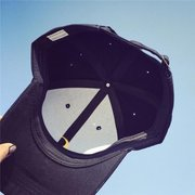Men Women Moon Hat Hip Hop Kpop Sport Curved Strapback Adjustable Baseball Cap