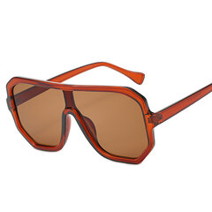 Unisex Retro Big Caja Round Face Sunglasses Border Sunglasses para mujer