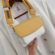 New Texture Small Bag Female New Wild Hit Color Girl Small Square Bag Fashion Simple Chain Messenger Bag