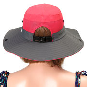 Women Men Foldable Mesh Breathable Anti-UV Fisherman Hat Outdoor Travel Sunscreen Bucket Hat