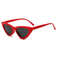 Donna Fashion Cat Occhiali Retro Personality Multicolor Cute Sunglasses