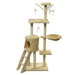 Домашнее животное Кот Царапинам Пост Дерево Scratcher Полюс Мебель Спортзал Дом Игрушка