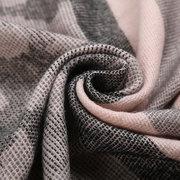 Women Long Winter Warm Cotton Scarf Tassel Soft Fashion Stripe Shawl Blanket Scarf