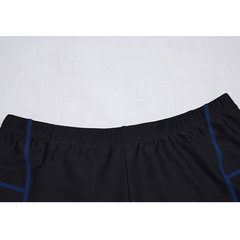 Men Smooth Boxers Séchage Rapide Maillots De Bain Stiped Short De Bain