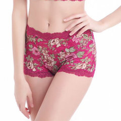 Sexy Floral Lace Seamless Ultrathin Panties Belly Control Underwear For Women