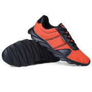 Men Mesh Breathable Light Weight Athletic Running Sneaekrs