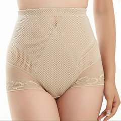Women Sexy Lace Thin Breathable Shaper High Waist Control Slimming Underwear Shapewear