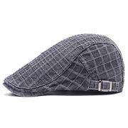 Berretto strillone da uomo vintage in cotone confortevole confortevole Soft berretto da berretto casual da viaggio outdoor