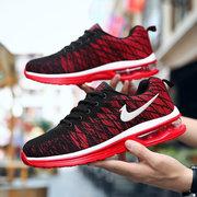 أحذية رياضية للرجال موسم جديد تحلق نسج شبكة الترفيه وسادة الهواء السفر الاحذية أحذية رجالية أحذية رجالية