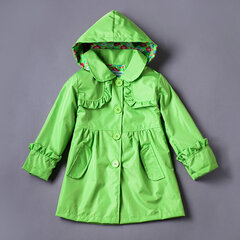 Girls Jackets Raincoat Waterproof Jackets For Girls Outerwear Boys Sports Coat Windbreaker