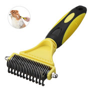 Double Side Pet Stainless Steel Fur Brush Comb Dog Cat Grooming Tool 12/23 Blade