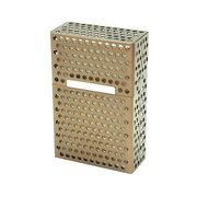 الإبداعية تخزين مربع السجائر يحمل 20 قطع المعادن جوفاء سيغاريت القضية
