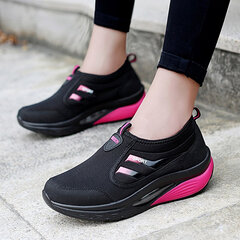 Femmes Casual Outdoor Mesh Cushion Slip On Shake Chaussures