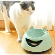2 Colors Pet Dog Cat Automatic Water Bowl Kitten Electric Auto Water Feeder