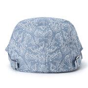 Uomo Donna Stampa Retro Berretto Cappello Anatra Cappello Parasole casuale All'aperto Cappello con visiera rialzata