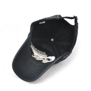 Mens Washed Cotton Embroidered JAMONT Baseball Cap Casual Sport Sunshade Hip Hop Caps