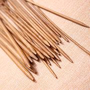 Gli stili di lavoro a maglia di bambù di 40Pcs hanno indicato gli attrezzi di lavoro a maglia