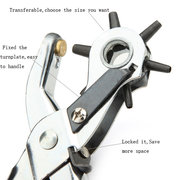 Cardboard Rubber Leather Hole Punch Hand Pliers Belt Holes Punches Of Belt