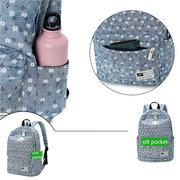 Sacchetti di scuola delle borse a tracolla dello zaino di grande capienza del fiore casuale delle donne