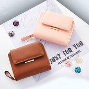 Women Girl Candy Color Small Wallet Coin Bag Card Holder Purse