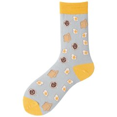 Mujer Cotton Cute calcetines Multi-Color Warm Middle Tube 1850866
