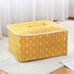 Waterproof Cotton Clothes Organizer Home Travel Luggage Storage Bag Large Capacity